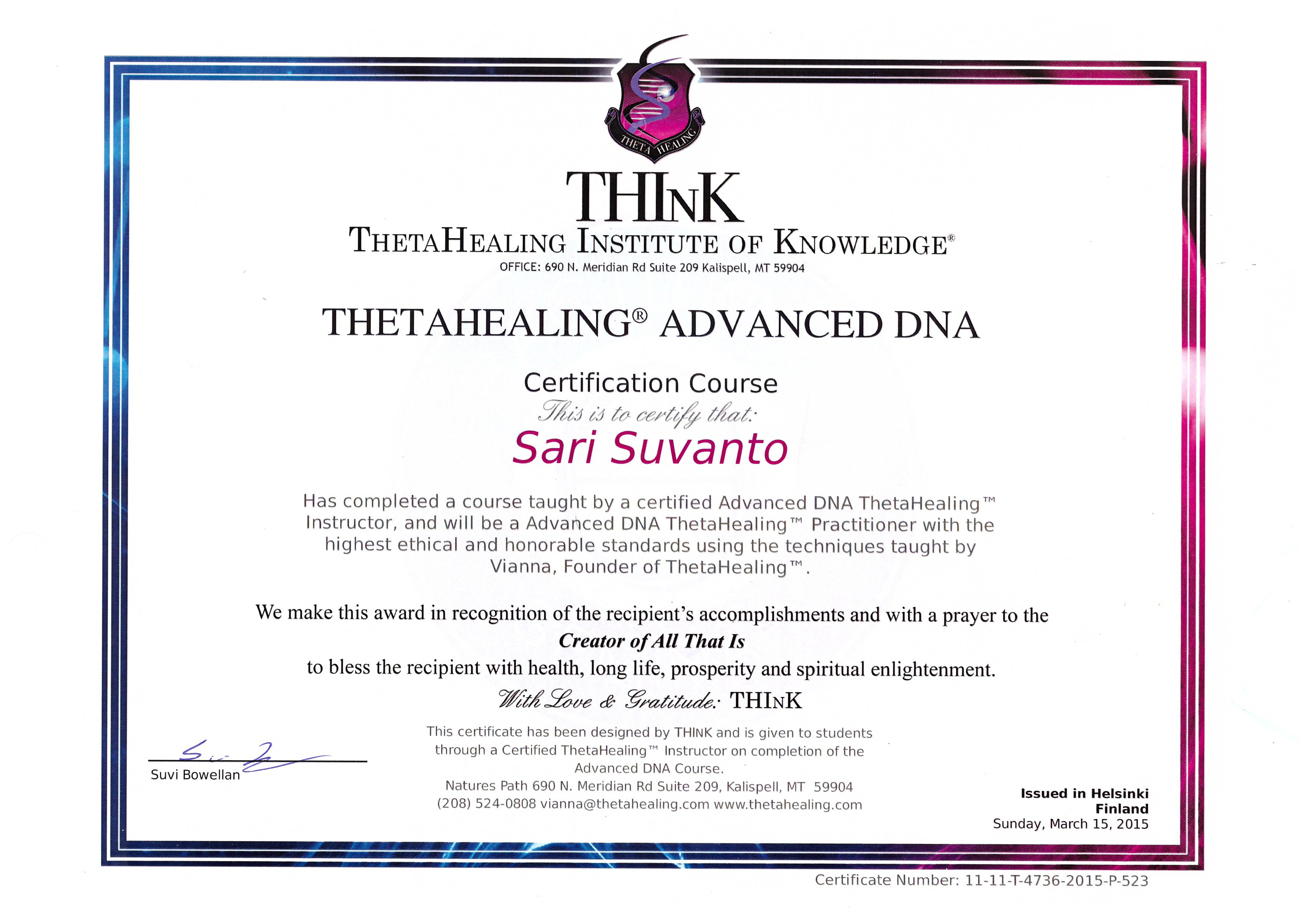 Theta-Advanced-certif